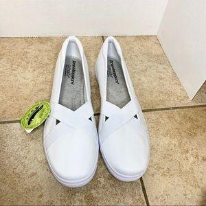 Grasshoppers Ortholite white comfort shoes